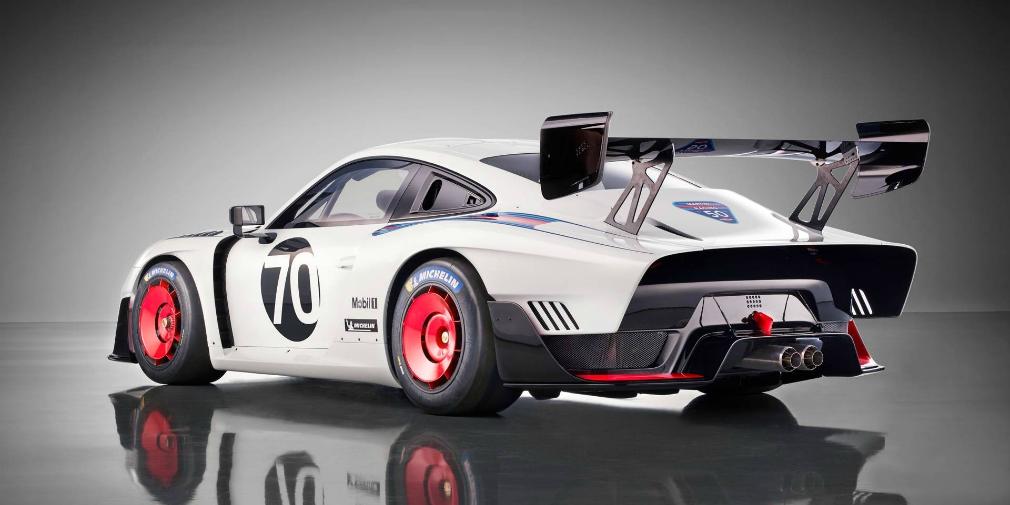 Porsche возродила знаменитый гоночный автомобиль 1970-х 1