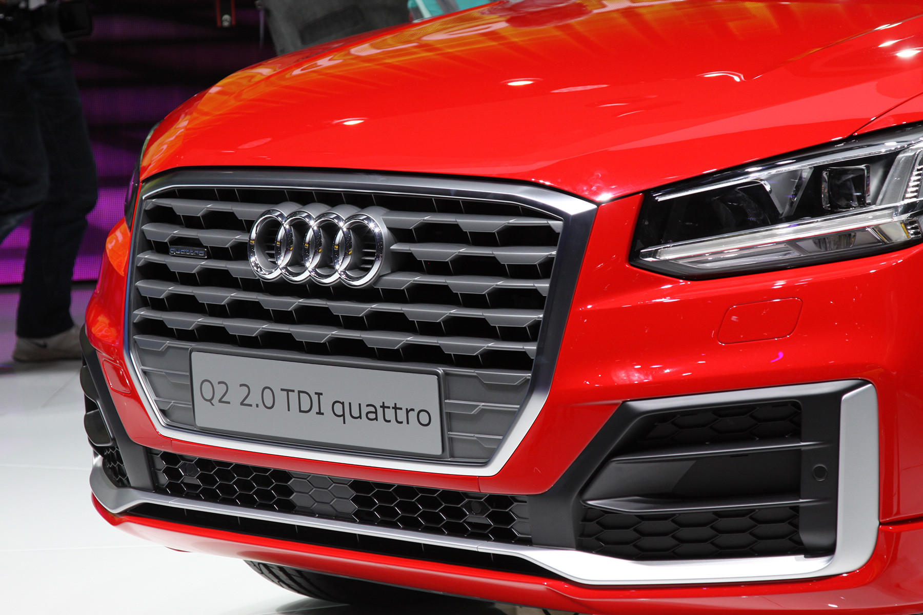 Маленький кроссовер Audi получил 300-сильный мотор 1