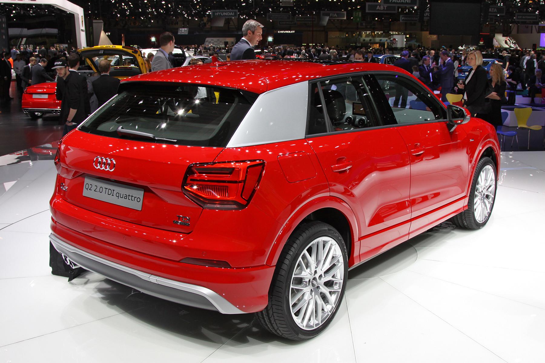 Маленький кроссовер Audi получил 300-сильный мотор 2