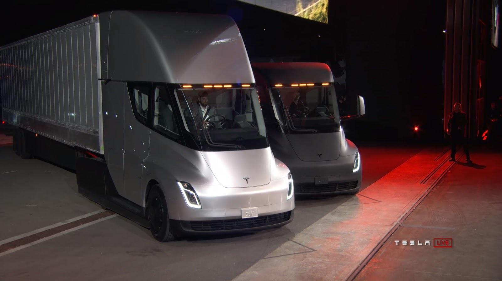 Tesla официально представила свой долгожданный грузовик 1
