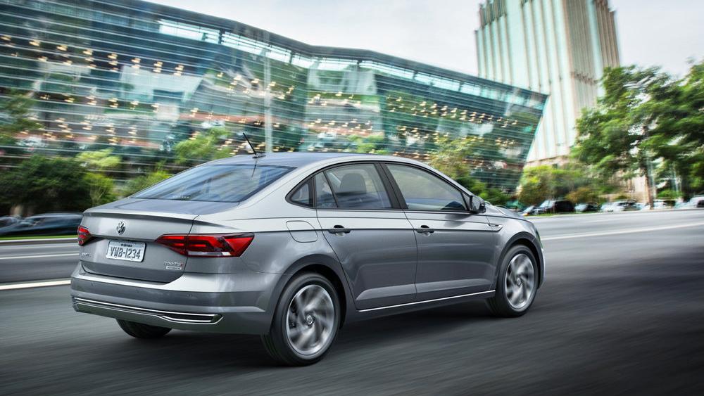 Новый седан Volkswagen Polo показали под именем Virtus 1