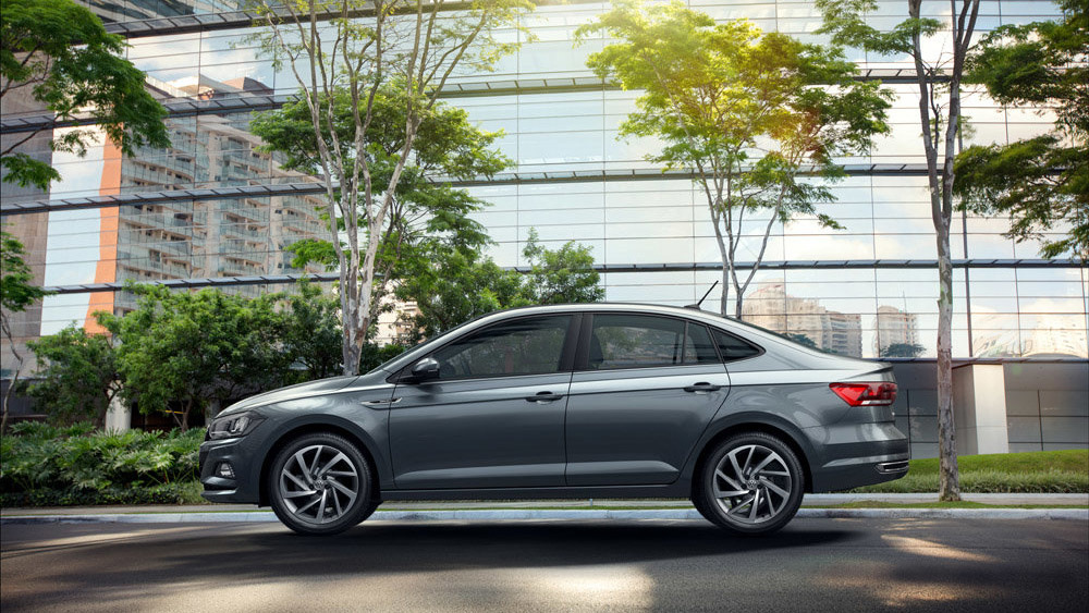 Новый седан Volkswagen Polo показали под именем Virtus 2