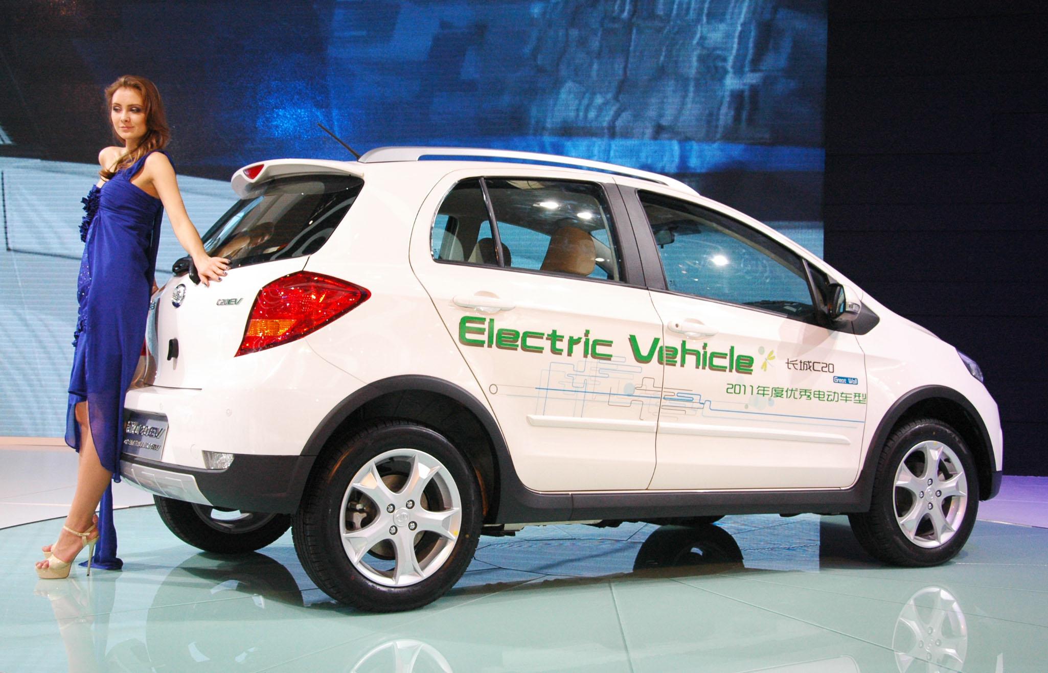 Китайские электромобили будут проектироваться в Европе 2