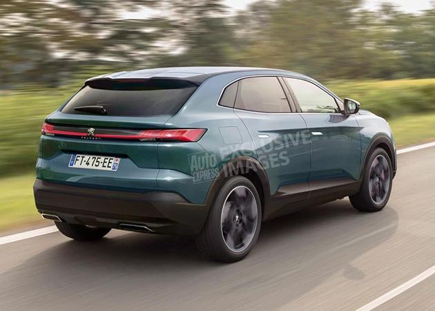 Peugeot выпустит купеобразный кроссовер 4008 2