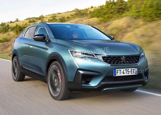 Peugeot выпустит купеобразный кроссовер 4008 1