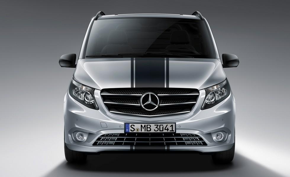 У Mercedes-Benz Vito появилась новая версия 1