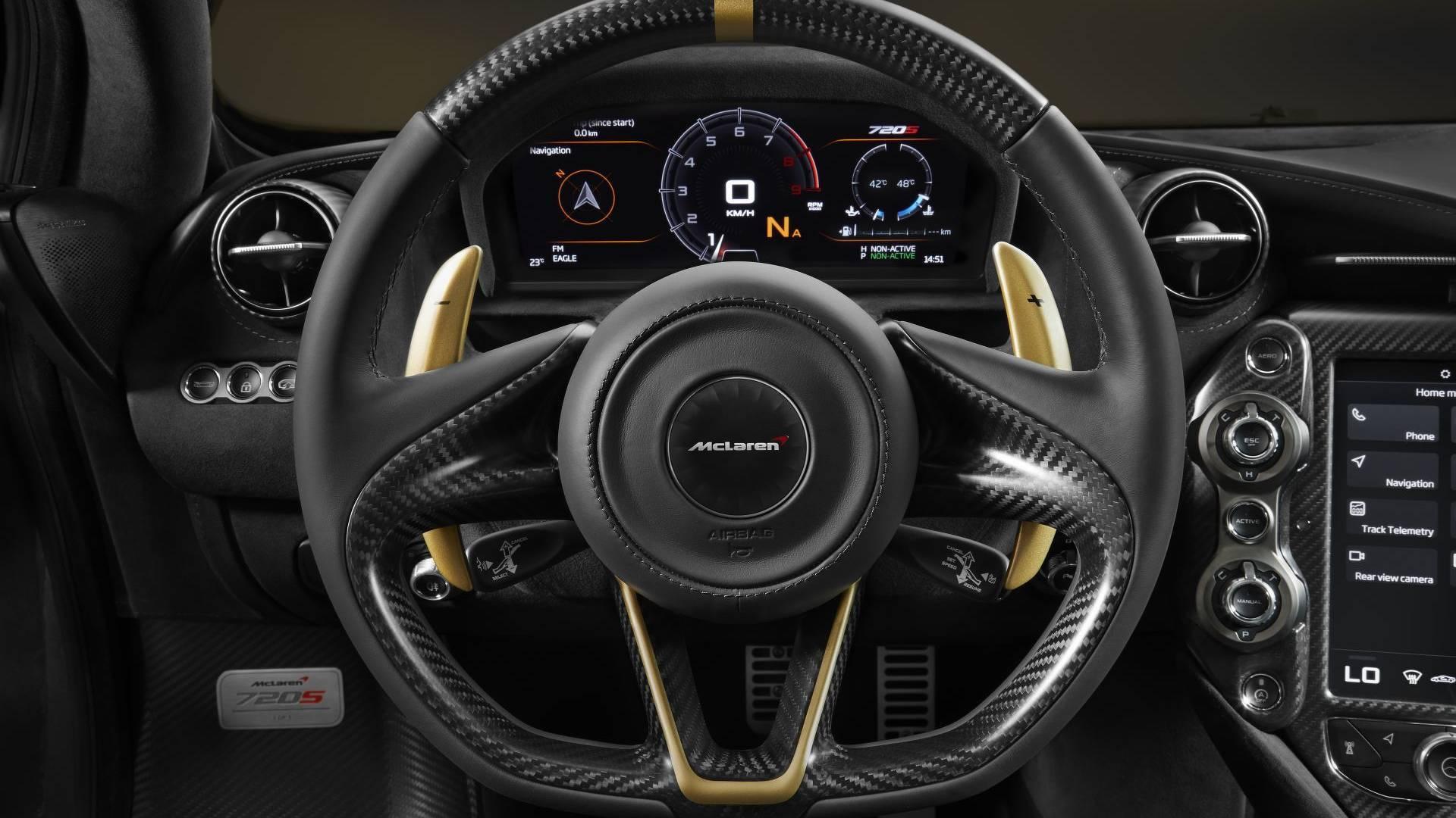 Тюнеры сделали McLaren с золотым моторным отсеком 2