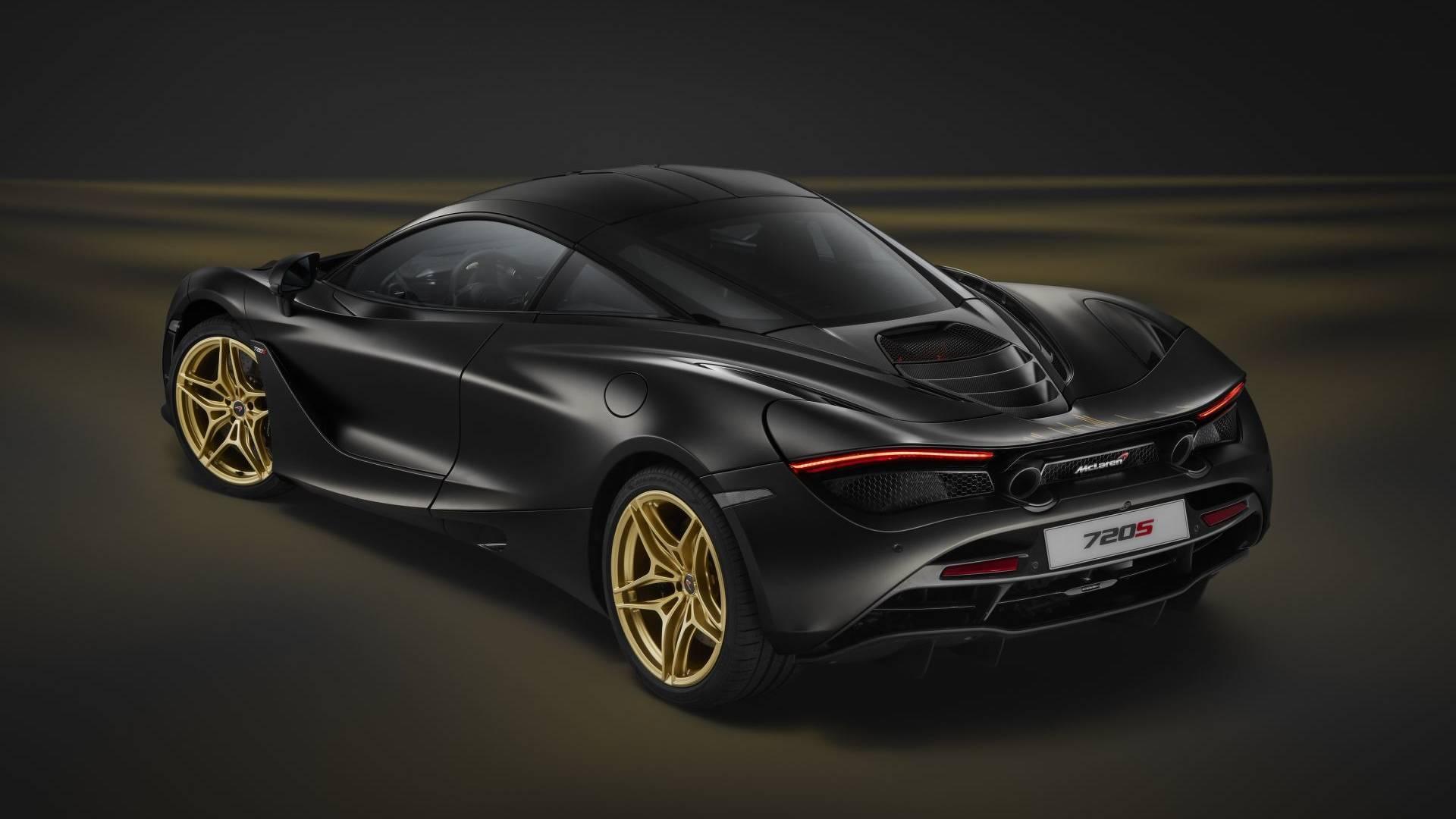 Тюнеры сделали McLaren с золотым моторным отсеком 1