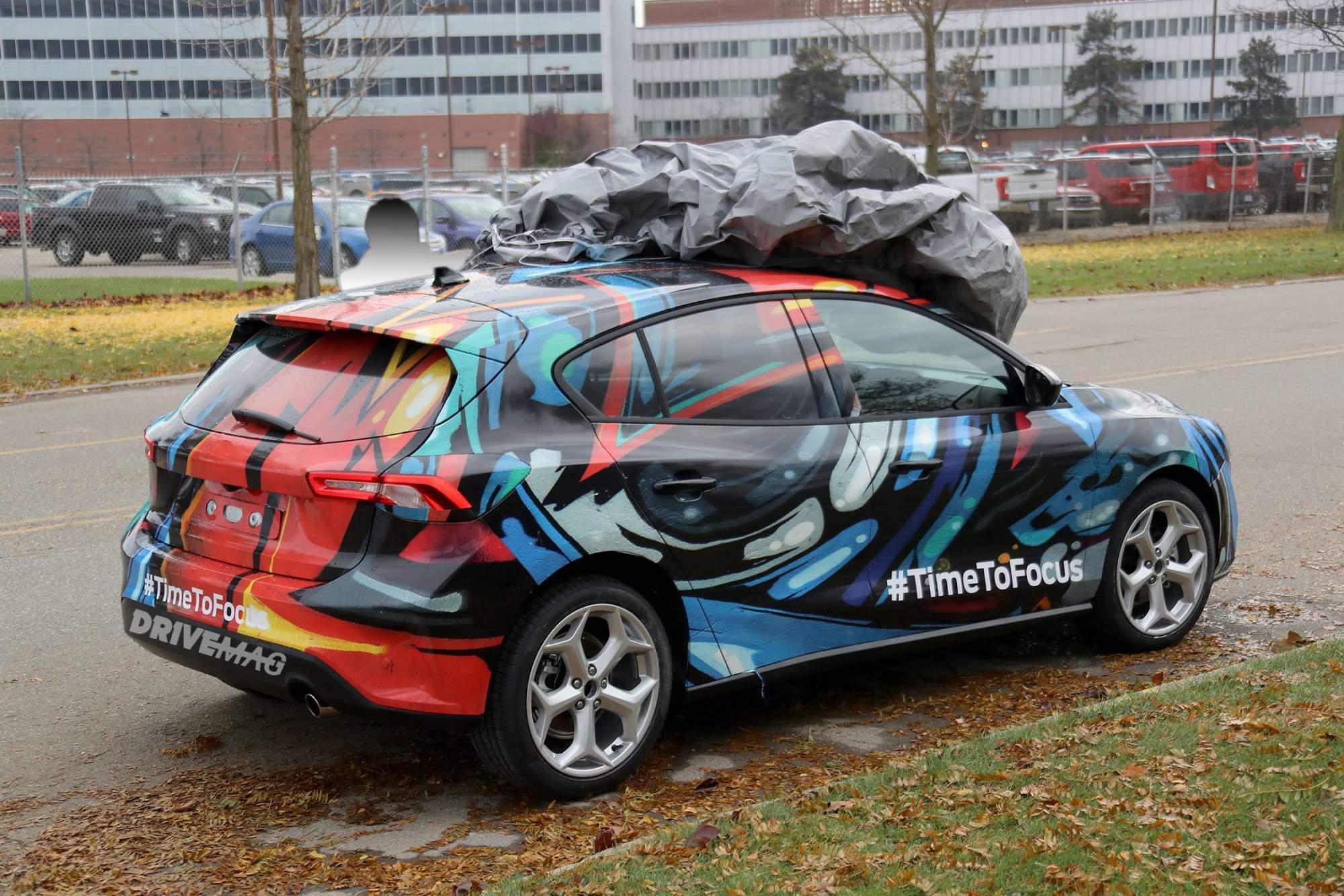 Каким будет новый Ford Focus 2