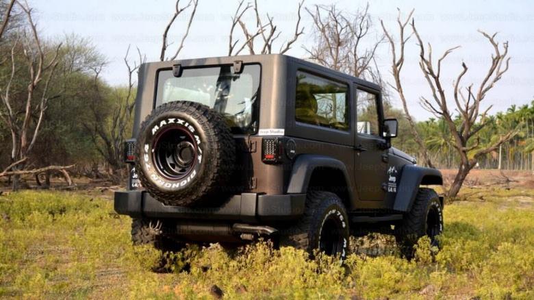 Индусы превратили старую Mahindra в Jeep Wrangler 2