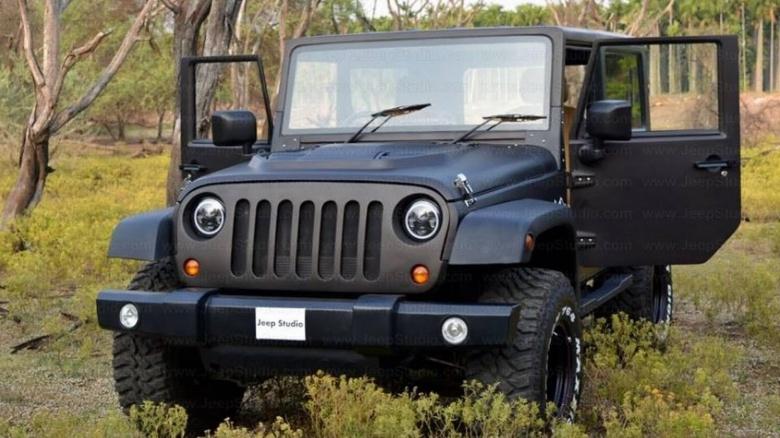Индусы превратили старую Mahindra в Jeep Wrangler 1