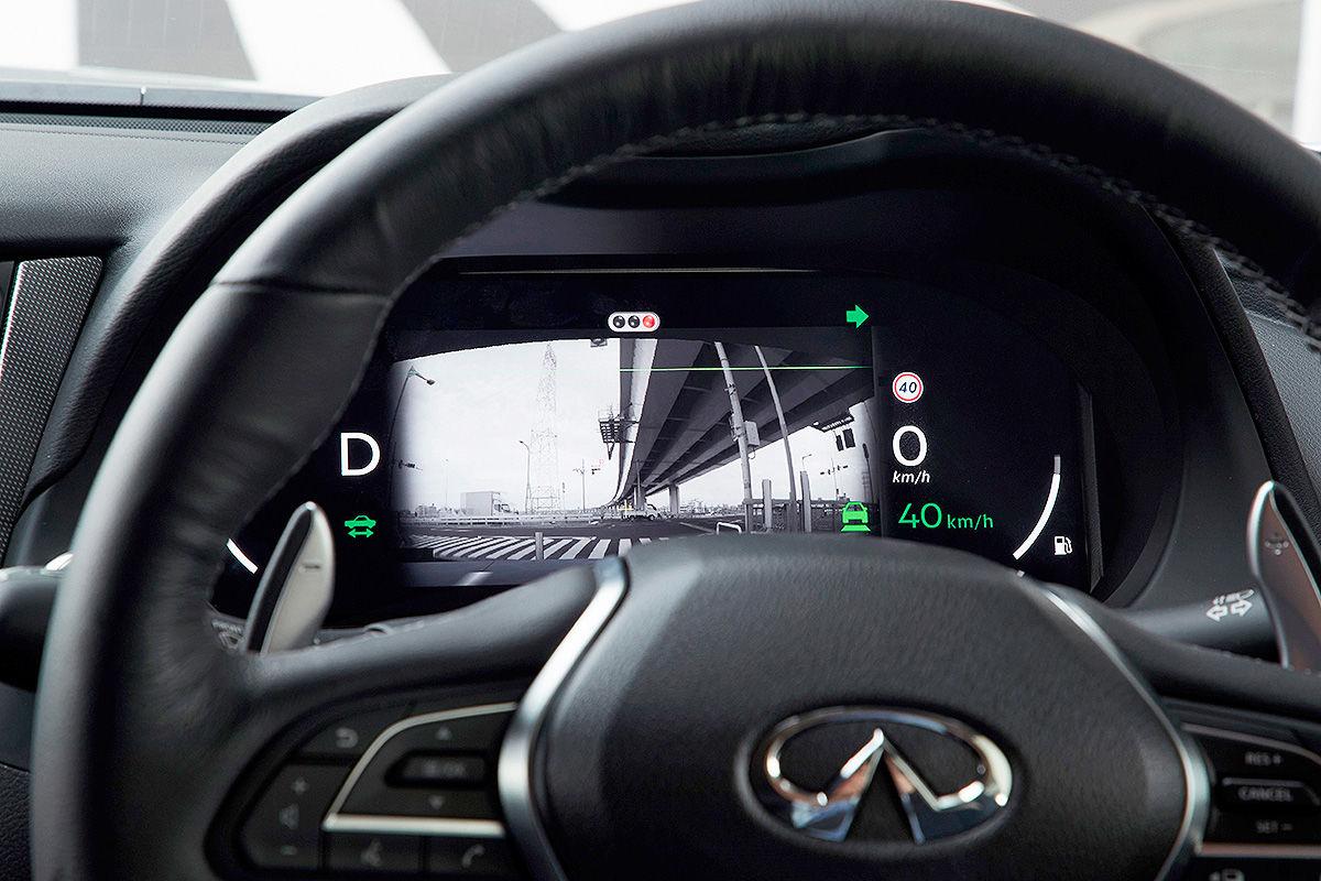 «Будущее наступило»: тест-драйв беспилотного Infiniti Q50 S 5