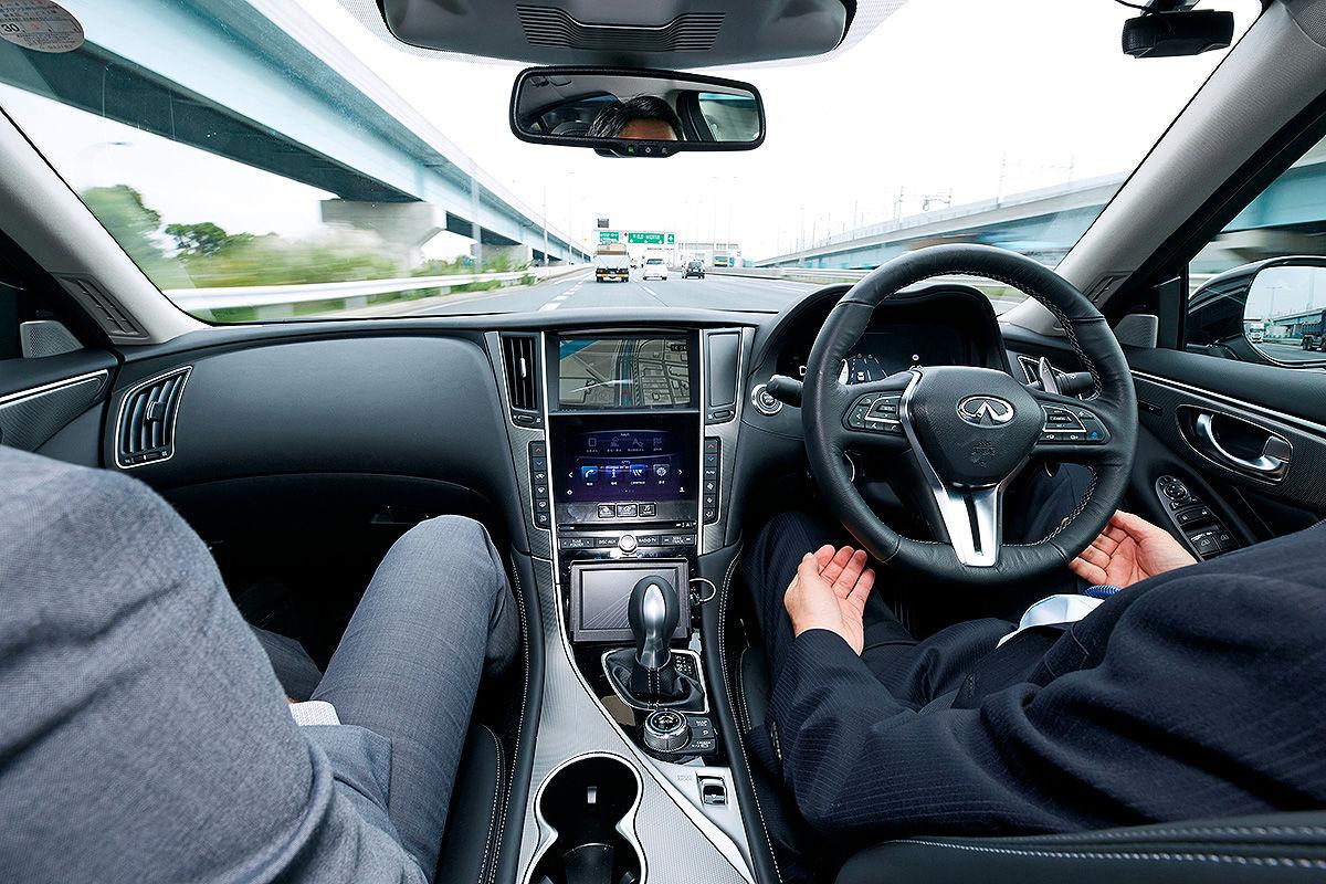 «Будущее наступило»: тест-драйв беспилотного Infiniti Q50 S 3