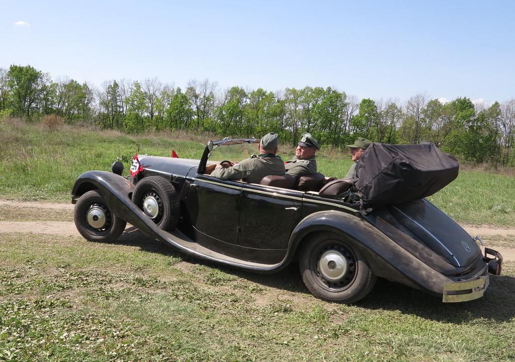 В Украине замечен «любимый автомобиль Гитлера» 3