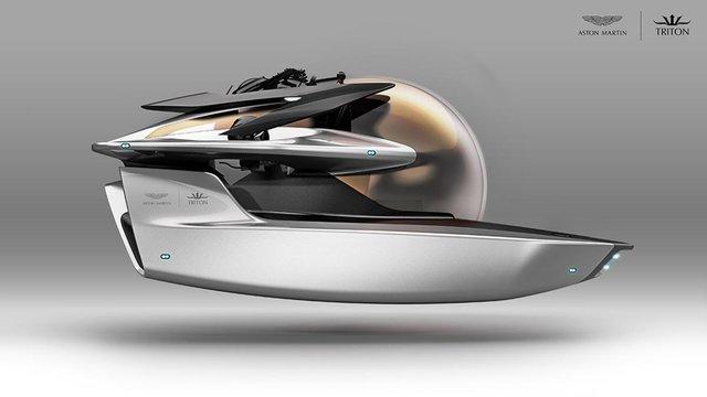 Aston Martin «идет под воду» 1
