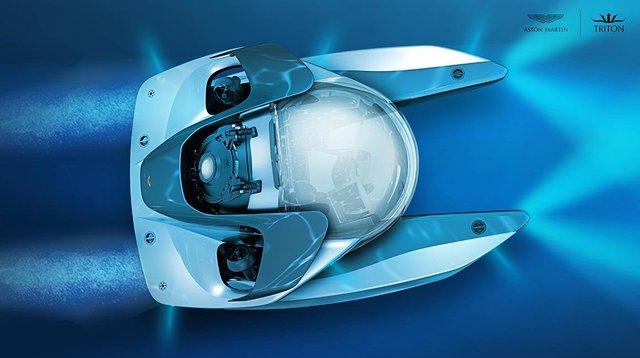 Aston Martin «идет под воду» 2