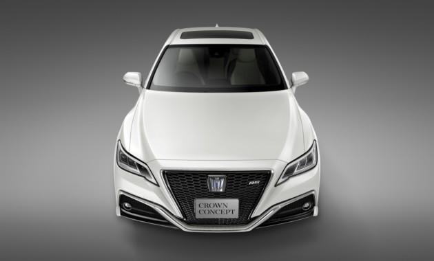 Toyota представит концептуальный седан Crown 1