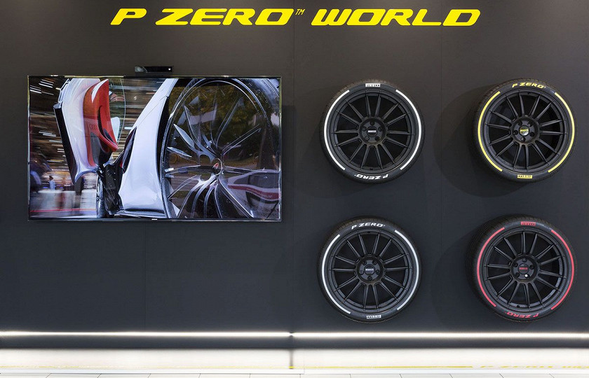 Компания Pirelli открыла концептуальный магазин 2