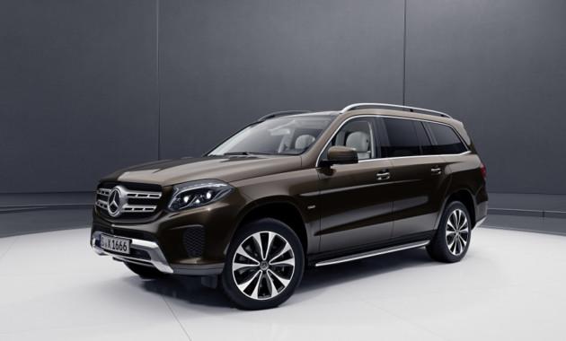 Mercedes представил особую версию внедорожника GLS 1