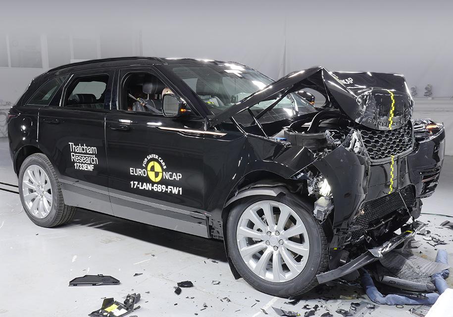 Range Rover Velar прошел европейский краш-тест 2