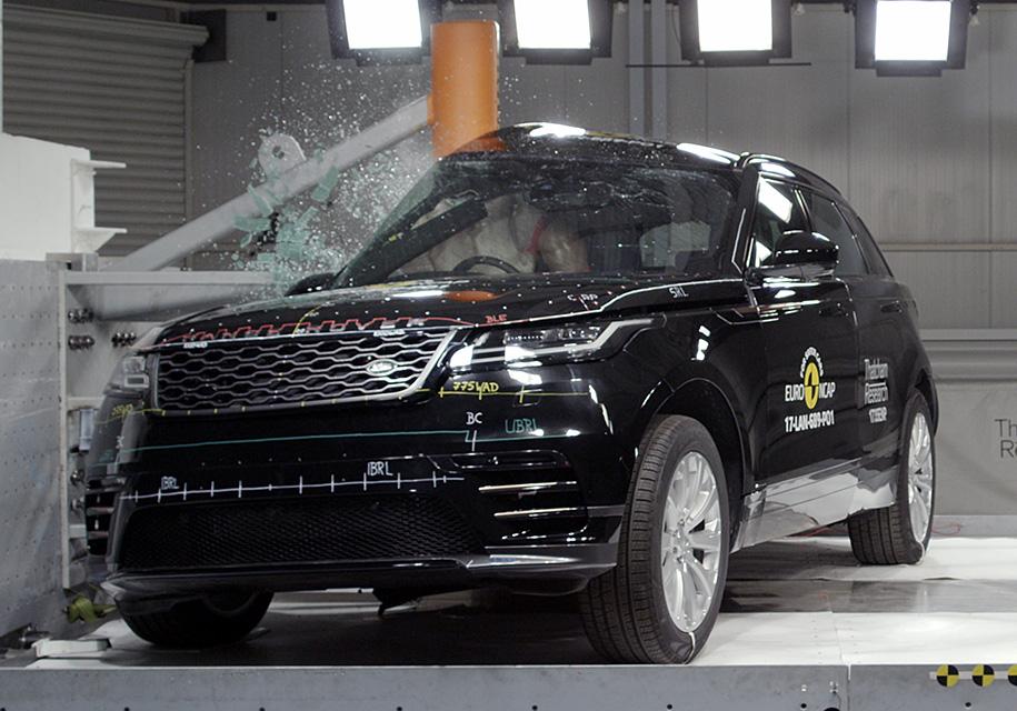 Range Rover Velar прошел европейский краш-тест 1