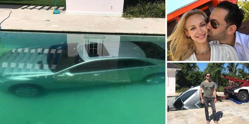 Супермодель утопила автомобиль банкира за то, что тот не дал денег 1