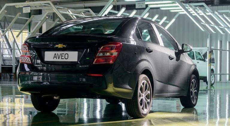 Производство обновленного Chevrolet Aveo налажено в Казахстане 2