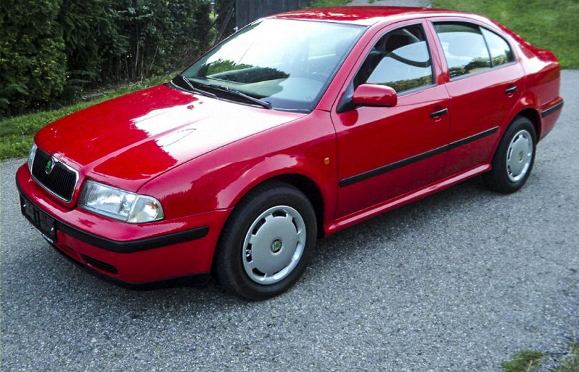 Первую Skoda Octavia в идеальном состоянии выставили на продажу 1