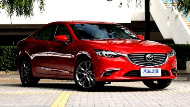 Обновленная Mazda6 показалась на фотоснимках 1
