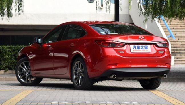 Обновленная Mazda6 показалась на фотоснимках 2