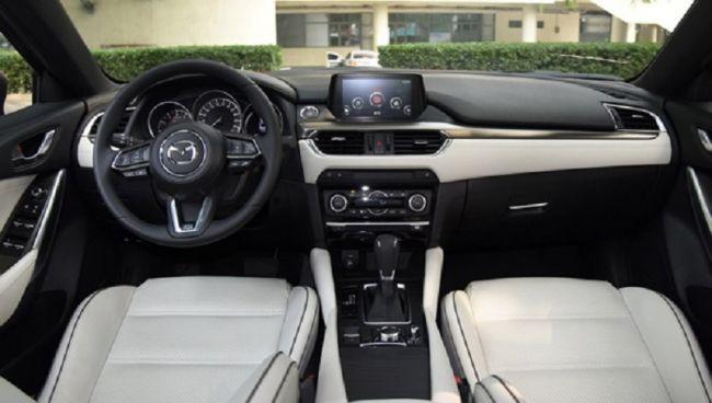 Обновленная Mazda6 показалась на фотоснимках 3