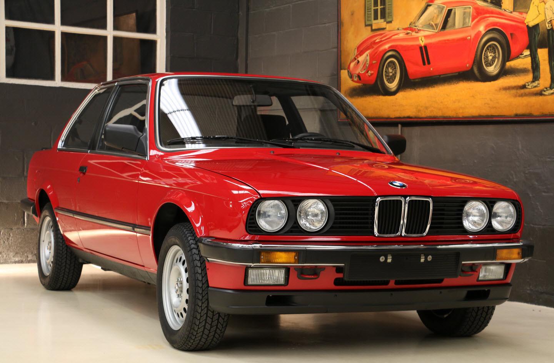 В Бельгии нашли новый BMW, которому 32 года 1
