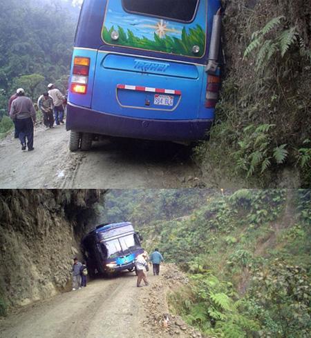 Где находится самая опасная  дорога в мире 3