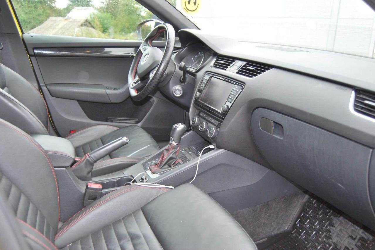 «Агрессивная, но милая»: тест-драйв Skoda Octavia RS 4
