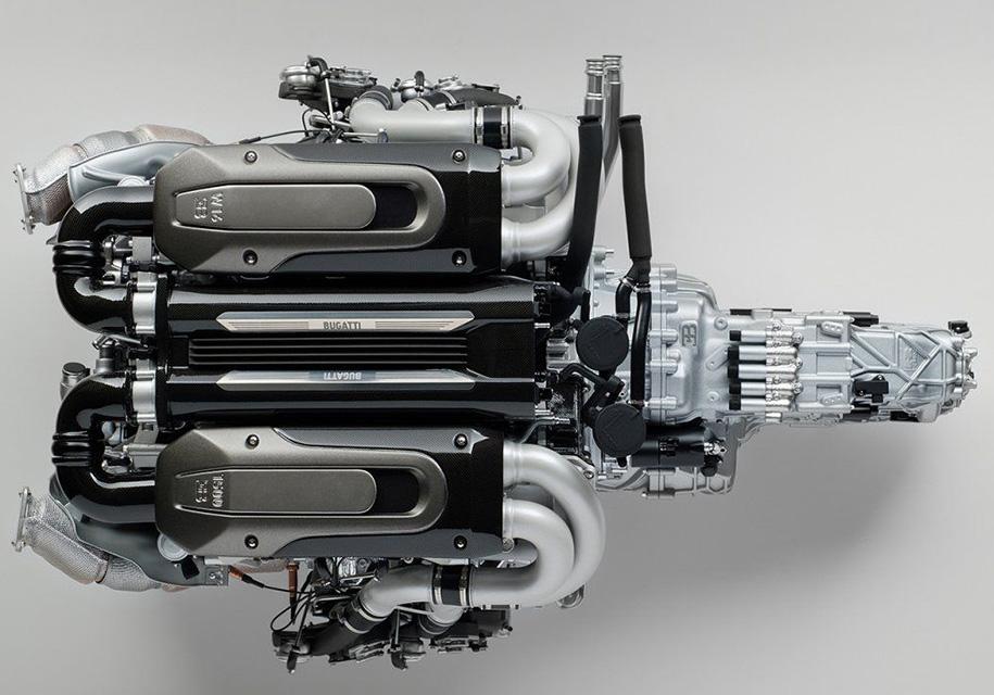 Копию двигателя Bugati Chiron продают за 10 000 долларов 1
