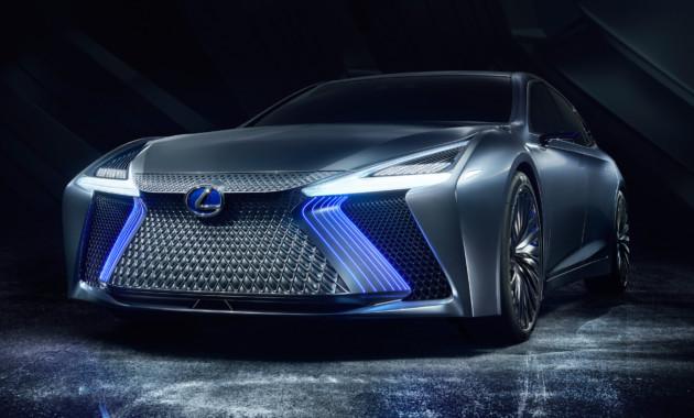Автосалон в Токио: Lexus представил свою новинку 1