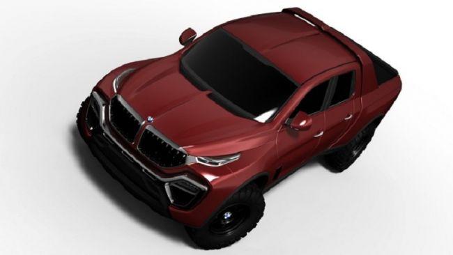 Как может выглядеть пикап BMW 3