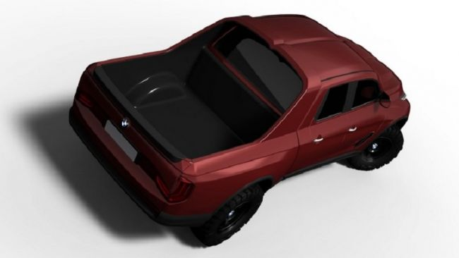 Как может выглядеть пикап BMW 2