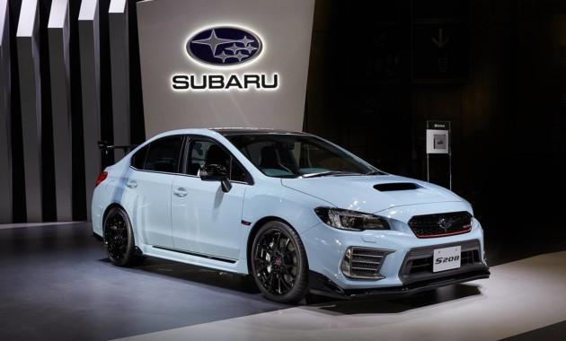 Автосалон в Токио: компания Subaru презентовала свои новинки 1
