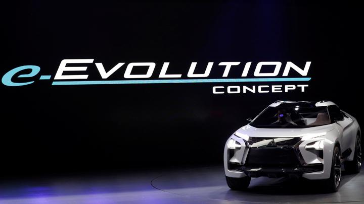 Токийский автосалон:  кроссовер Mitsubishi E-volution официально представлен 1