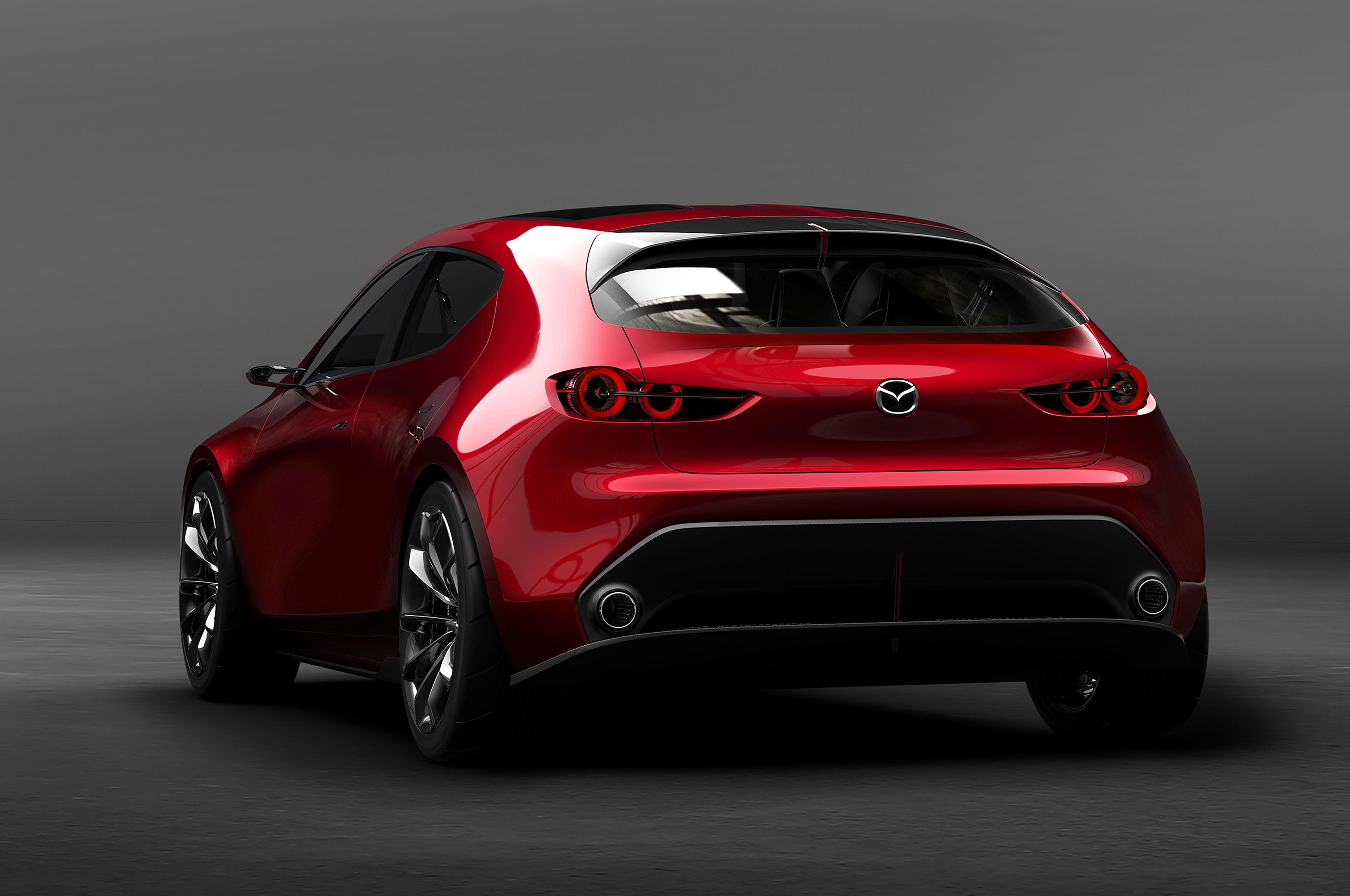 Автосалон в Токио: Mazda представила «самый элегантный автомобиль» 3