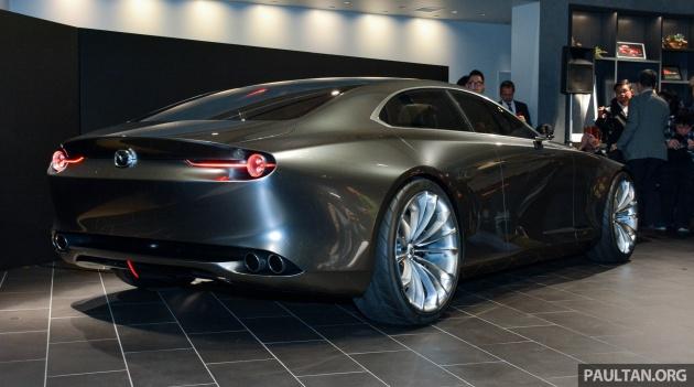 Автосалон в Токио: Mazda представила «самый элегантный автомобиль» 5