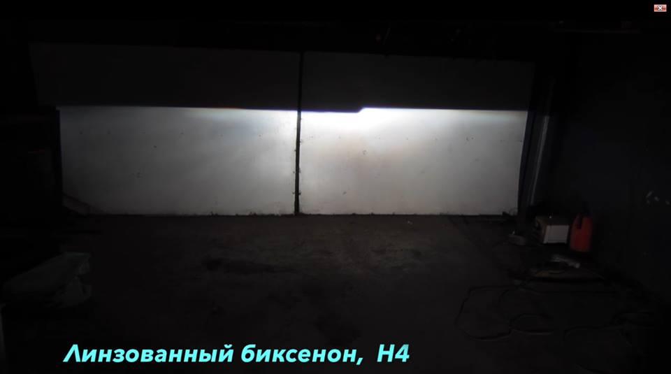 Как светят разные типы фар 3