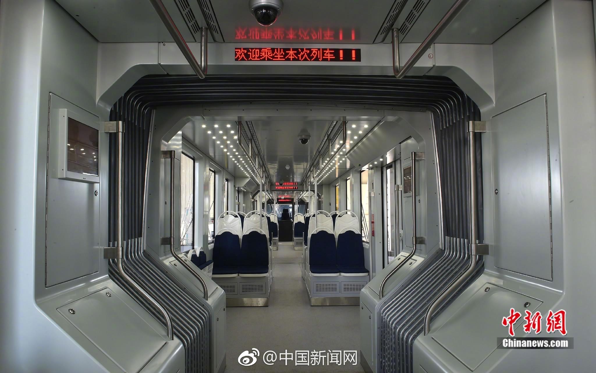 В Китае впервые запустили водородный трамвай 2