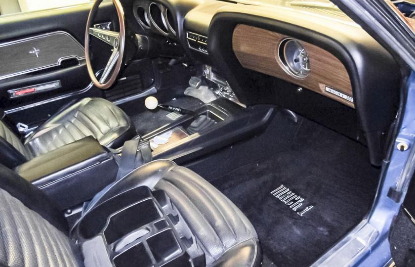 На продажу выставили практически новый Ford Mustang 1969 года 3