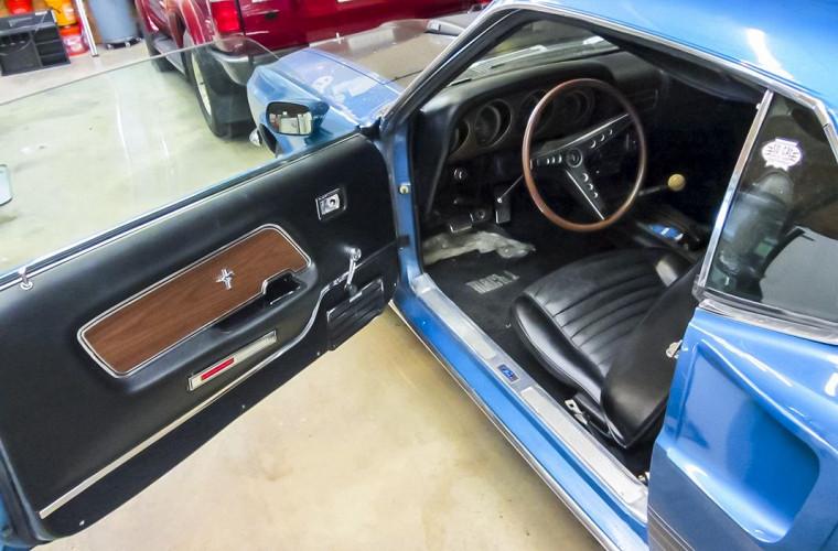 На продажу выставили практически новый Ford Mustang 1969 года 2