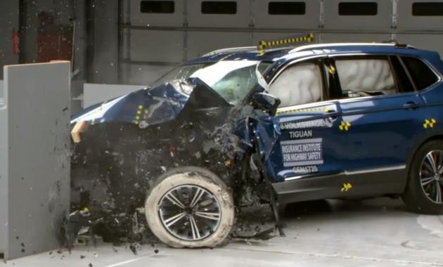 Новый VW Tiguan разбили на краш-тесте 1