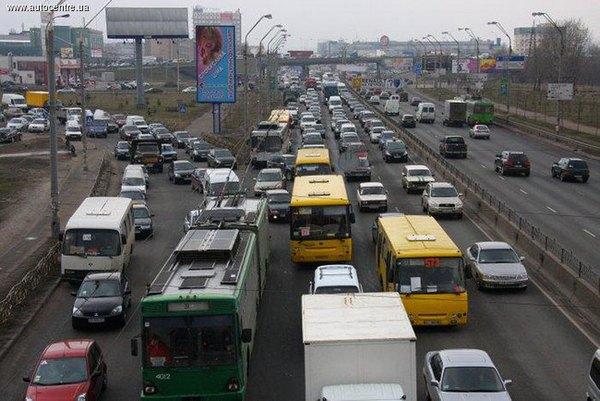 Украинскую столицу настиг транспортный «апокалипсис» 1