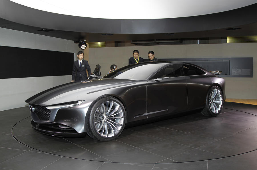 Автосалон в Токио: Mazda представила «самый элегантный автомобиль» 4