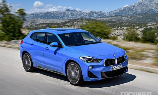 «Невтерпеж»: BMW X2 рассекретили до премьеры 1